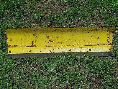 John Deere 38 Snow Plow Blade For Garden Tractor 38