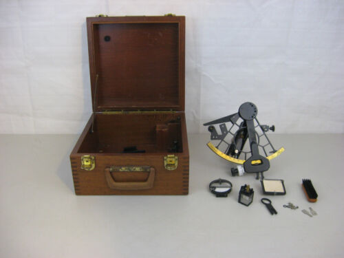 Vintage Weems & Plath 61608 USCG Issued Sextant Maritime Navigational Instrument