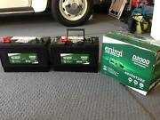 BATTERIES -  ENIRGI DUAL PURPOSE D2000 - 100 AMP HOURS/800CCA Upper Coomera Gold Coast North Preview