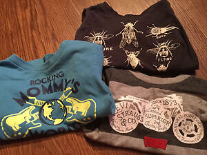 Carters , Levi's , children's place shirts  .