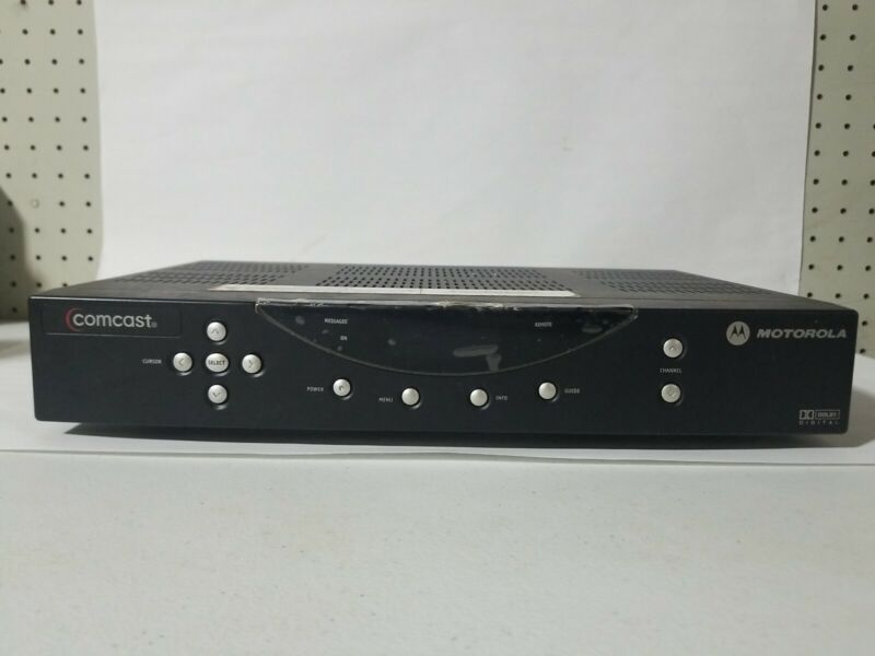 Comcast Motorola DCT2524/1612 - CATV Digital Converter Box, No Power Cord