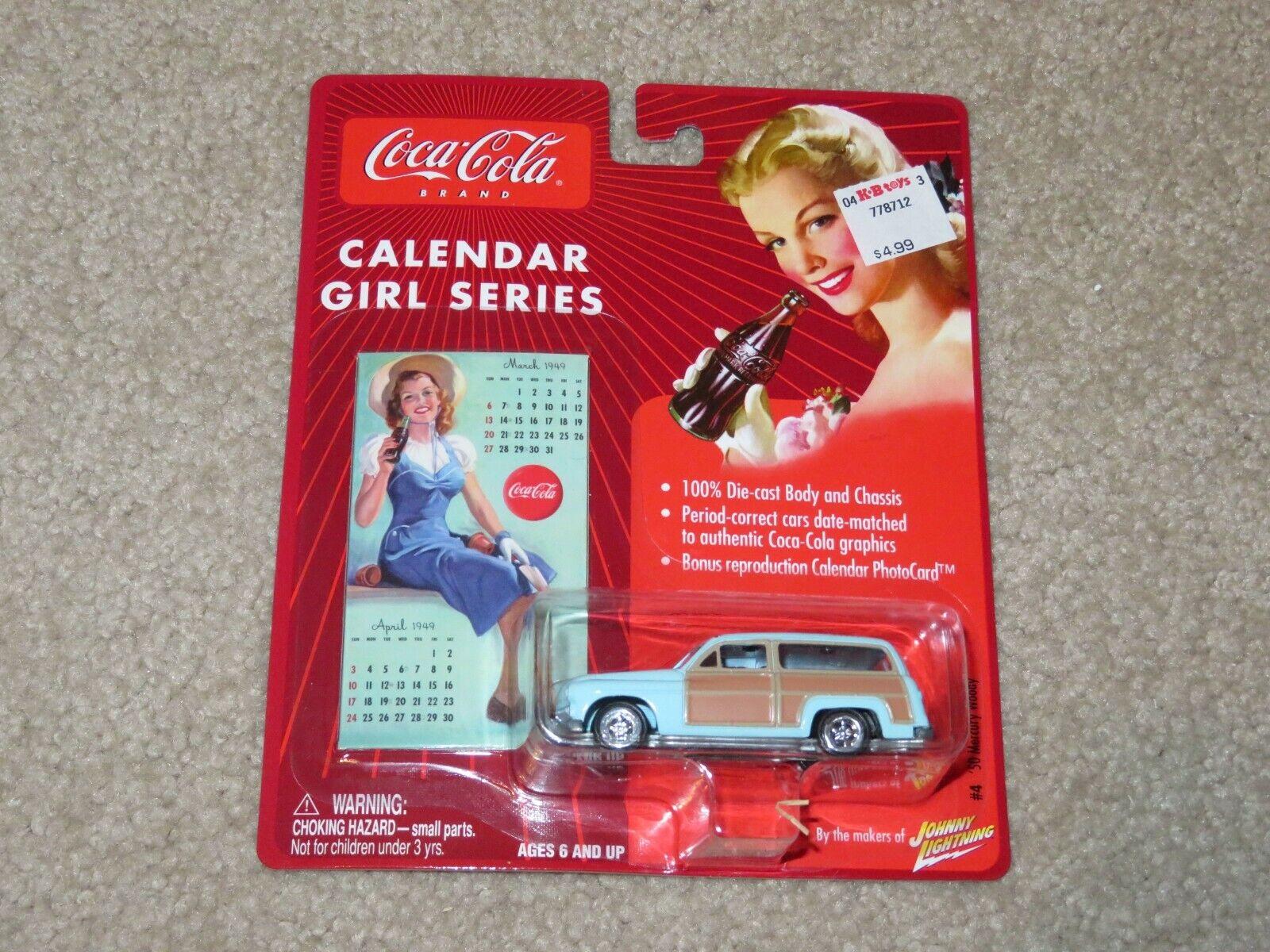 Johnny Lightning Coca-Cola Calendar Girls Series 1950 50 Mer