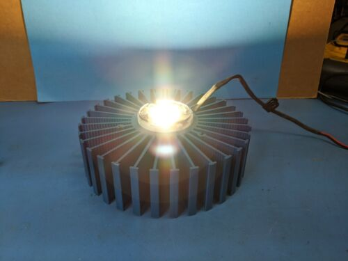 High Power Led With Heatsink attached , 24 VDC