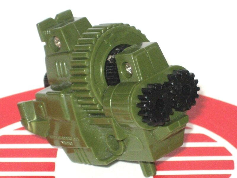 GI Joe Vehicle Motorized Double Machine Gun Working 1988 Original Part