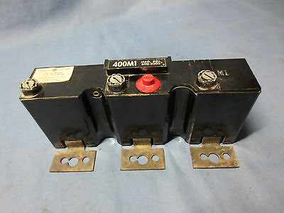 GENERAL ELECTRIC TYPE TJK TRIP UNIT 400 AMP MAG. TRIP ADJ. 600-2000A AC - 400M1