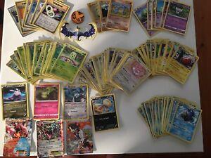 Pokémon cards and figure.
