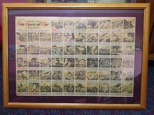 WWII Framed Sunday Sun souvenir of five years of war. Dated Septe Riverstone Blacktown Area Preview