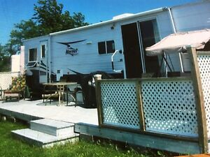 LARGE CLEAN TRAILER FOR RENT IN GAGNON BEACH