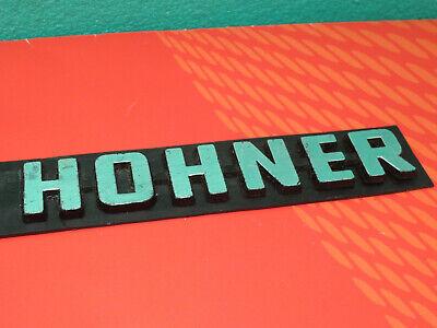 Hohner Emblem Logo für Verstärker  Akkordeon.  b3