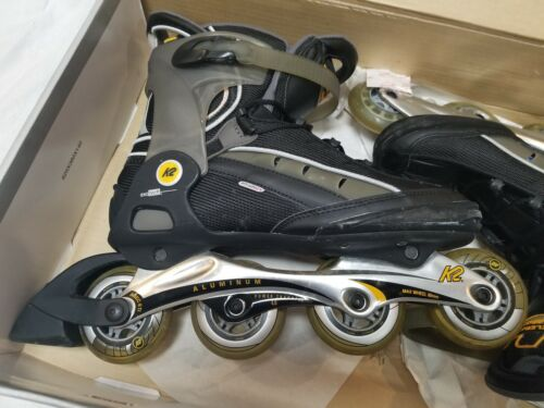 MENS K2 XCELERATE Inline Skates Roller Blades Sz 12 w Box/Tool/Manual $199 Tag