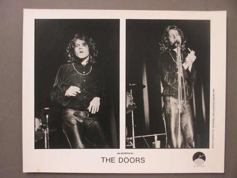 The Doors Jim Morrison promo photo 8X10 black & white matte finish Composite !