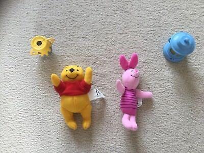 McDonalds Happy Meal toys Playhouse Disney Winnie the Pooh Piglet 2005 plush