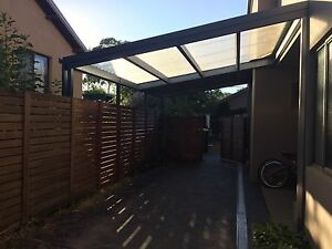 Carport, plus merbau fence and hanging gate O'Connor North Canberra Preview
