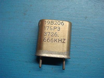 1 Ge 19b206175p3 3726.666khz Vhf Lo-band Crystal Oscillator Vintage Audio