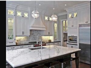 Comptoir granite et renovation cuisine