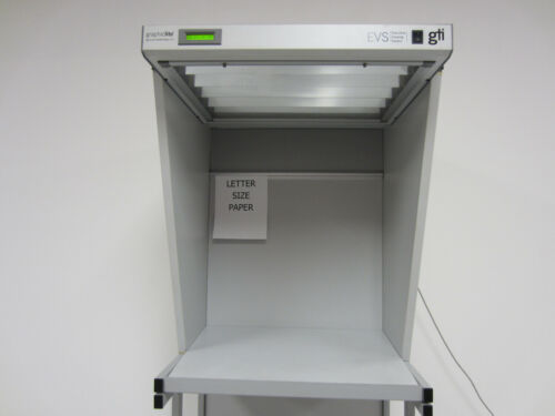GraphicLite Color Viewing Station with side walls and floor stand - light booth