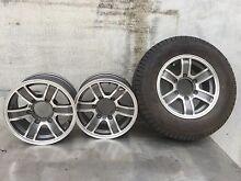 Jayco 6 stud caravan rims and tyre. Mudgeeraba Gold Coast South Preview