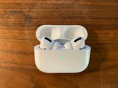 Apple AirPods Pro - White - slightly used - Cleaned and disinfected