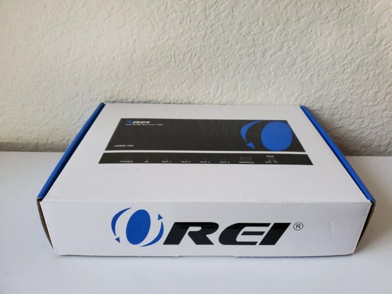 OREI UltraHD 4K @ 60 Hz HDMI Splitter 1x4 HDMI 18G