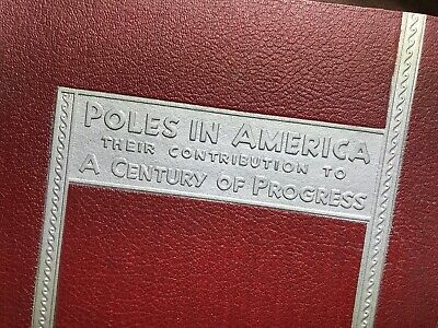 "Antique ""Poles in America-Their Contribution to A CENTURY OF PROGRESS"" 1933 Fair"
