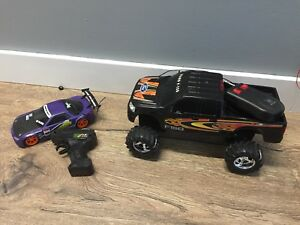 Remote controlled cars/trucks
