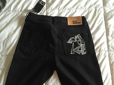 Iceberg Jeans Limited Edition Shanghai Collection Women's Black Euro Size 27