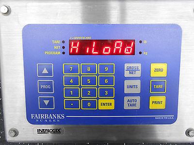 Fairbanks Scale Ind-hr2400-q1 Weight Scale Head Unit Capacity Of 1000kgs