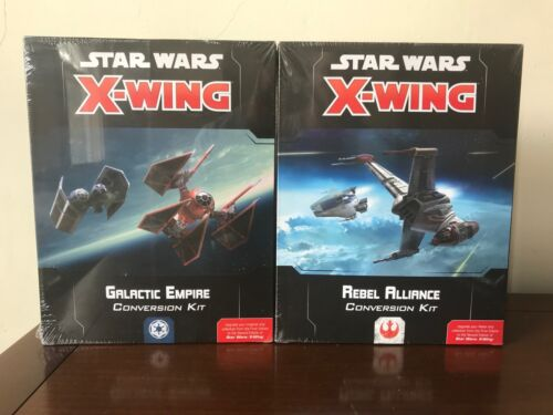 X-Wing Miniatures 2.0 2nd Edition- Ship Conversion Cards & Base Kits