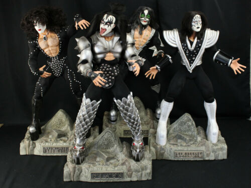"KISS Action Figures (4) Fun 4 All 24"" Limited Edition Destroyer Set Gene Simmons"