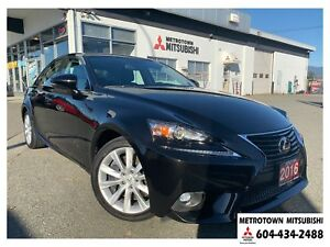 2016 Lexus IS 200t Local & No accidents! LOW KMS!