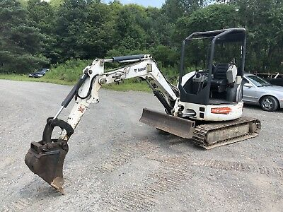 2011 Bobcat 425g Mini Excavator Runs Excellent Nice Machine No Issues