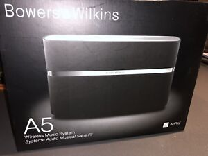 Bowers & Wilkins A5 AirPlay speaker with all boxes/instructions