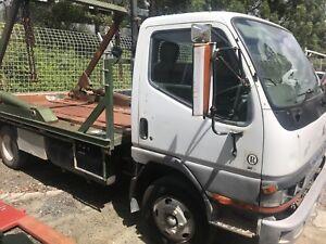 1999 Mitsubishi Canter 3.5 Skip Bin Loader Truck