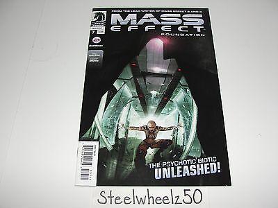 Mass Effect Foundation #7 Comic Dark Horse 2013 3 Video Game Mac Walters Brown