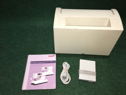 PFAFF Expression 2034 Sewing Machine, Hard Cover, Ft. Controller, Manual, PLUS!