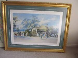 The Bush Wedding by Darcy Doyle limited edition framed Print Albany Creek Brisbane North East Preview