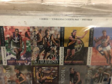 2 Afl select 96&97 uncut sheets in great condition