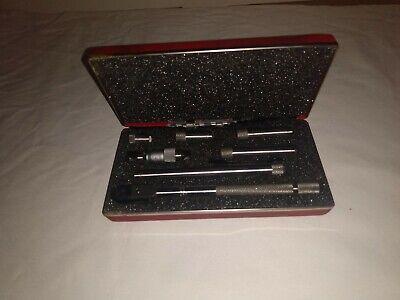 L.s.starrett No. 823 Inside Tubular Micrometer Very Goo Cond. With Box