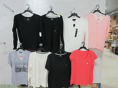 8 XL PULLOVER SHIRT TOP CAUSAL SWEATER V-NECK BASIC EDITIONS ATTENTION LOT NEW