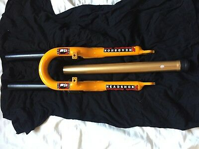 c448d824c9f Cannondale Headshok Moto FR lowers + piston parts lot downhill fork MTB 90s