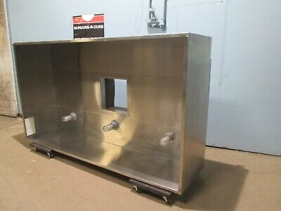 Captiveaire Hd Commercial Nsf 96l Type 2 Exhaust Hood For Steamheataroma