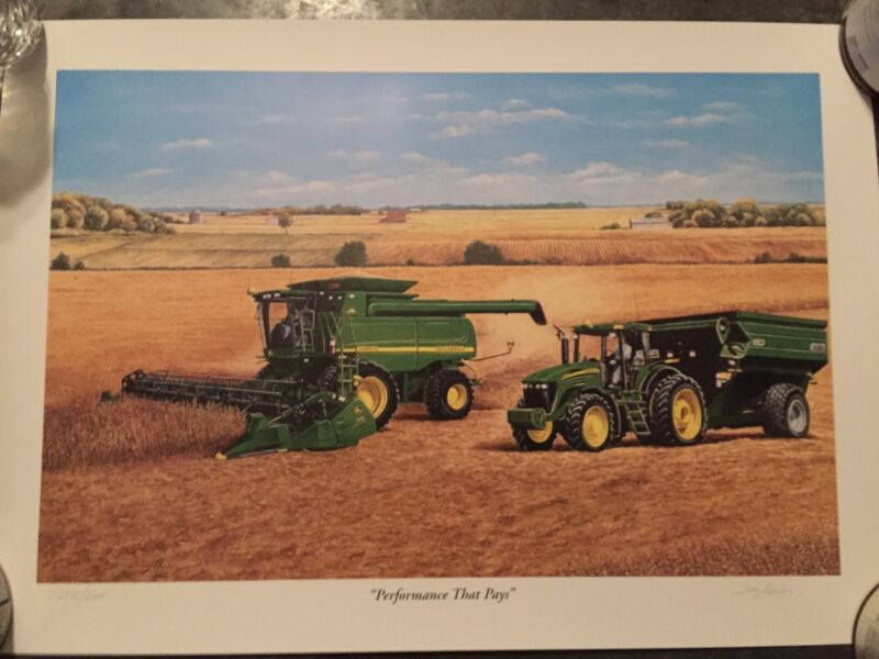 John Deere 2003 Product Into Limited Edition Print