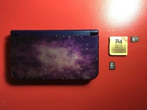 Modded Galaxy New Nintendo 3DS XL - Complete with Several Games