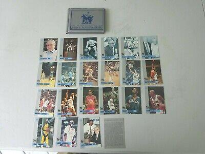 1991 John Wooden Basketball Set & Case, Michael Jordan,