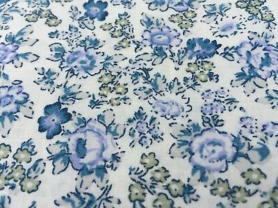 John Lewis cotton 100%, 'Mothers Day B', (per metre) dress fabric, (Mothers Day Fabric)