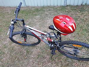 Terrain mountain push bike - mint condition with dual suspension Orange Orange Area Preview