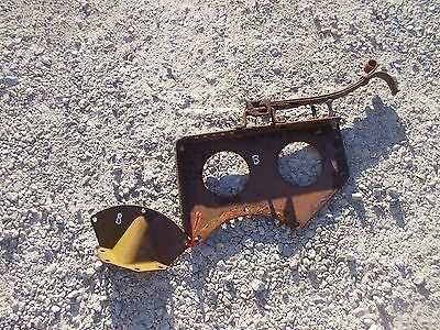 Farmall B Tractor Ih Seat Assembly Pan Bracket To Platform Foot Mount Spring