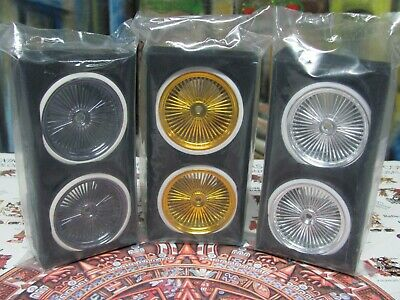 1/10 Scale Lowrider Wire Wheel/ White Wall Tire Set for R/C Car Or Truck 12MM, used for sale  Tucson