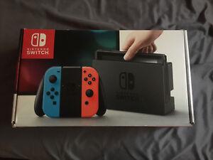 Nintendo Switch with Mario Odyssey