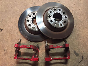 MK5 VW rear brake upgrade